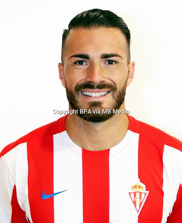 Spain - La Liga Santander 2016-2017 / <br /> ( Real Sporting de Gijon ) - <br /> Xavier Torres Buigues  &quot; Xavi Torres &quot;