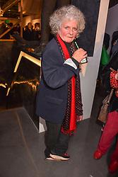 Maggi Hambling at a VIP private view of 21st Century Women held at Unit London, Hanover Square, London England. 03 October 2018.
