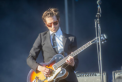 Daniel Gessler of Interpol, play the main stage on Sunday 1st July at TRNSMT 2018.