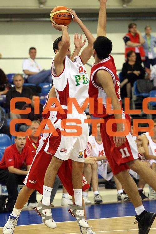 DESCRIZIONE : Atene Athens Eurolega Euroleague 2006-07 Final Four Torneo Giovanile Junior Tournament Olympiacos Pireo Bc Fmp<br /> GIOCATORE : Smiljanic<br /> SQUADRA : Bc Fmp<br /> EVENTO : Eurolega 2006-2007 Final Four Torneo Giovanile Junior Tournament <br /> GARA : Olympiacos Pireo Bc Fmp<br /> DATA : 04/05/2007 <br /> CATEGORIA : Tiro<br /> SPORT : Pallacanestro <br /> AUTORE : Agenzia Ciamillo-Castoria/M.Ciamillo