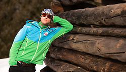 03.02.2015, Bad Hofgastein, AUT, Bernhard Gruber im Portrait, im Bild der Österreichische Kombinierer Bernhard Gruber während eines Fototermins // the Austrian Nordic Combined Athlete Bernhard Gruber during a Photocall in Bad Hofgastein, Austria on 2015/02/03. EXPA Pictures © 2014, PhotoCredit: EXPA/ JFK