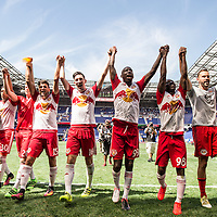 The New York Red Bulls take on NYCFC at Red Bull Arena in Harrison, NJ on Sunday July 24, 2016.<br /> (Ben Solomon/New York Red Bulls)