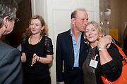 FRANCES OSBORNE; WILLIAM SIEGHART; ROSIE BOYCOTT, Streetsmart Reception at 11 Downing St. London. 1 November 2011. <br /> <br />  , -DO NOT ARCHIVE-© Copyright Photograph by Dafydd Jones. 248 Clapham Rd. London SW9 0PZ. Tel 0207 820 0771. www.dafjones.com.