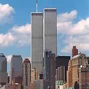 Twin Towers, World Trade Center, New York.