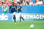 FRISCO, TX - AUGUST 11:  Gyasi Zardes #29 of the Los Angeles Galaxy chases down the ball against FC Dallas on August 11, 2013 at FC Dallas Stadium in Frisco, Texas.  (Photo by Cooper Neill/Getty Images) *** Local Caption *** Gyasi Zardes
