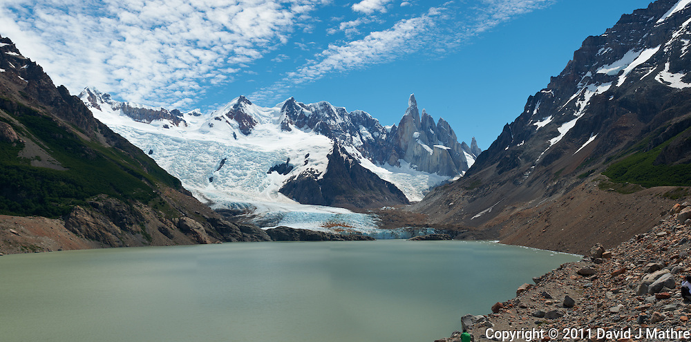 Laguna Torre Panorama. Composite of 4 images from a Nikon D3x and 50 mm f/1.4G lens (ISO 100, f/11, 1/40 sec) combined using PTGui Pro.