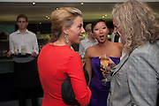 J0ANNA CHRISTIE; BEATRIX ONG; ROBERT CALCRAFT, 2012 GQ Men of the Year Awards,  Royal Opera House. Covent Garden, London.  3 September 2012