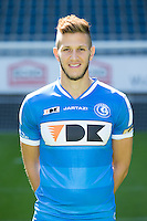 Gent's Rami Gershon pictured during the 2015-2016 season photo shoot of Belgian first league soccer team KAA Gent, Saturday 11 July 2015 in Gent.