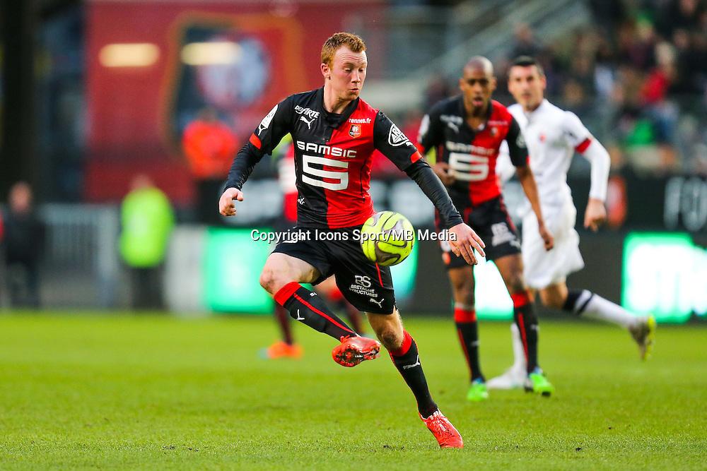 Christian BRULS  - 25.01.2015 - Rennes / Caen  - 22eme journee de Ligue1<br /> Photo : Vincent Michel / Icon Sport *** Local Caption ***