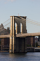 Brooklyn Bridge in New York October 2008