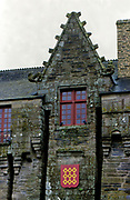 France, Brittany.  Pontivy Chateau.