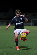 17/10/2017 - Dundee v Falkirk in the SPFL Development League at Links Park, Montrose; Dundee's Brian Rice