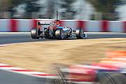 Nico Hulkenberg (GER) drives the Sahara Force India F1 Team VJM05 Formula One Testing, Circuit de Catalunya, Barcelona, Spain, World Copyright: Jamey Price