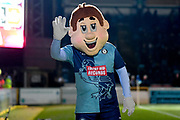 Bodger the Wycombe Wanderers mascot during the The FA Cup match between Wycombe Wanderers and Tranmere Rovers at Adams Park, High Wycombe, England on 20 November 2019.