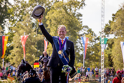 DodderGold medal, Chardon Bram, NED<br /> Prizegiving FEI rider of the year<br /> Driving European Championship <br /> Donaueschingen 2019<br /> © Hippo Foto - Dirk Caremans<br /> Gold medal, Chardon Bram, NED