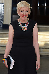 Julie Hesmondhalgh arrives for the BAFTA TV Awards at the Theatre Royal, London, United Kingdom. Sunday, 18th May 2014. Picture by Andrew Parsons / i-Images