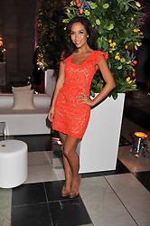 MYLEENE KLASS at the 50th birthday party for Jonathan Shalit held at the V&A Museum, London on 17th April 2012.