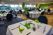 VIP dining during the EFL Sky Bet League 2 match between Forest Green Rovers and Swindon Town at the New Lawn, Forest Green, United Kingdom on 22 September 2017. Photo by Shane Healey.