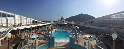 From a panoramic photo from an iPhone6. Images from the MSC Musica cruise to the Persian Gulf, visiting Abu Dhabi, Khor al Fakkan, Khasab, Muscat, and Dubai, traveling from 13/12/2015 to 20/12/2015.