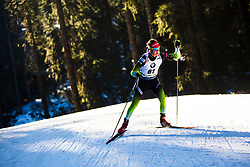 Miha Dovzan (SLO) during the Men 20 km Individual Competition at day 1 of IBU Biathlon World Cup 2019/20 Pokljuka, on January 23, 2020 in Rudno polje, Pokljuka, Pokljuka, Slovenia. Photo by Peter Podobnik / Sportida