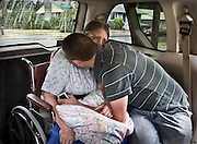 Losing Betsy - Leaving Home Forever<br /> On the day Betsy is moved to an adult family home, Alex, 20, comforts his mom and finds he needs comfort himself.  Though she can say few coherent words, she was sobbing in the van and said &quot;Thank you.&quot;  &quot;That's when I lost it,&quot; Alex said.