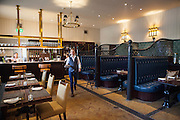 The Interior to the Astor Grill in Cliveden House, in Berkshire.