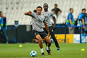 Liverpool defender Trent Alexander-Arnold (66) during the Liverpool Training session ahead of the 2019 UEFA Super Cup Final between Liverpool FC and Chelsea FC at BJK Vodafone Park, Istanbul, Turkey on 13 August 2019.