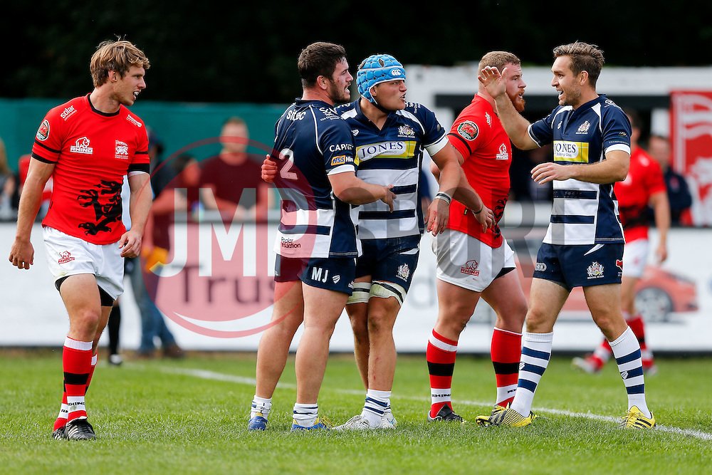 - Mandatory byline: Rogan Thomson/JMP - 07966 386802 - 13/09/2015 - RUGBY UNION - Old Deer Park - Richmond, London, England - London Welsh v Bristol Rugby - Greene King IPA Championship.