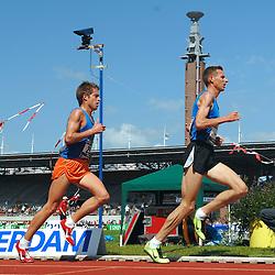 01-07-2007 ATLETIEK: NK OUTDOOR: AMSTERDAM<br /> Kamiel Maase en Michel Butter<br /> ©2007-WWW.FOTOHOOGENDOORN.NL