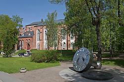 Skytte Monument & Tartu Dome Church, Estonia, Europe
