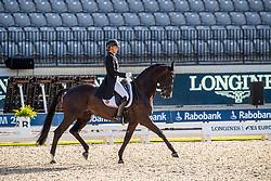 Cool Isabel, BEL, Aranco V<br /> European Championship Dressage<br /> Rotterdam 2019<br /> © Hippo Foto - Stefan Lafrentz<br /> Cool Isabel, BEL, Aranco V