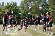 Crawley Town Training 01/07/2015