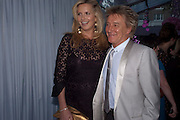 Penny Lancaster; Rod Stewart;, Glamour Women of the Year Awards 2011. Berkeley Sq. London. 9 June 2011.<br /> <br />  , -DO NOT ARCHIVE-© Copyright Photograph by Dafydd Jones. 248 Clapham Rd. London SW9 0PZ. Tel 0207 820 0771. www.dafjones.com.