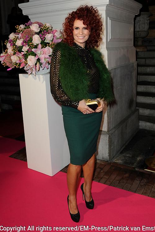 Uitreiking Beau Monde Awards 2013 in het Amstel Hotel, Amsterdam.<br /> <br /> Op de foto:  Leontine Borsato Ruiters
