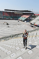 Nico Hulkenberg (GER) Sahara Force India F1.<br /> Autodromo Hermanos Rodriguez Circuit Visit, Mexico City, Mexico. Thursday 22nd January 2015.