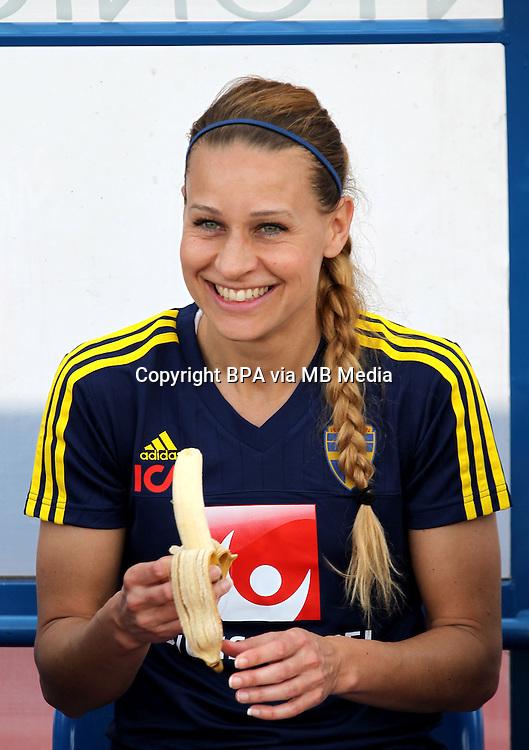 Fifa Womans World Cup Canada 2015 - Preview //<br /> Algarve Cup 2015 Tournament ( Vila Real San Antonio Sport Complex - Portugal ) - <br /> Germany vs Sweden 2-4   -  Charlotte Rohlin of Sweden