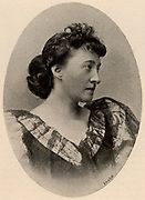 Sarah Grand (1854-1943) pen name of the English novelist Frances McFall. She is said to have coined phrase 'New Woman' in 1894. Her novel 'The Heavenly Twins' 1893, dealt with double sexual standards in marriage.