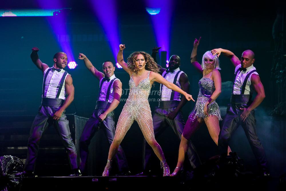Jennifer Lopez live from the Figali Convention Center in Panama City, Panama, June 15, 2012. Photo by: Tito Herrera / www.titoherrera.com