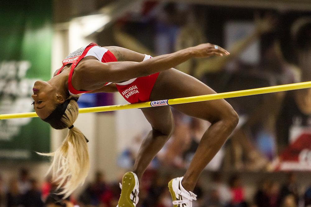New Balance Indoor Grand Prix Track & FIeld:  women's high jump, Priscilla Frederick, Antigua
