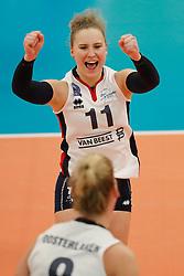 20180110 NED: CEV CUP Sliedrecht Sport - Beziers Angels VB: Sliedrecht<br />Ana Rekar (11) of Sliedrecht Sport <br />©2018-FotoHoogendoorn.nl / Pim Waslander