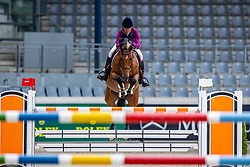DINIZ Luciana (POR), Lighthouse Girl<br /> Youngster Tor für 7+8jährige Pferde<br /> Aachen - Jumping International 2020<br /> 05. September 2020<br /> © www.sportfotos-lafrentz.de/Stefan Lafrentz