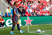 Leeds United forward Helder Costa (17), on loan from Wolverhampton Wanderers,  during the EFL Sky Bet Championship match between Bristol City and Leeds United at Ashton Gate, Bristol, England on 4 August 2019.