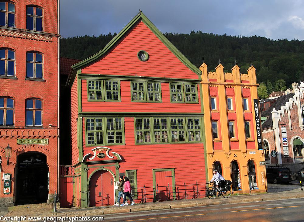 The Hanseatic museum building,  Bryggen area, city centre of Bergen, Norway