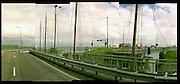 Panorama Afsluitdijk (uitsnede), uit 'Nat en Droog'; opdracht 200 jaar Rijkswaterstaat.