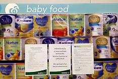 Wellington-Baby formula removed from supermarket shelves