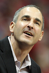 02 February 2013:  ISU athletic director Gary Friedman during an NCAA Missouri Valley Conference mens basketball game where the Salukis of Southern Illinois lost to the Illinois State Redbirds for Retro-Night 83-47 in Redbird Arena, Normal IL