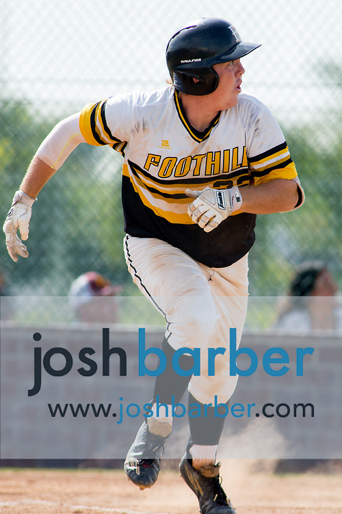 Foothill's Camden Cougnet during a Crestview League game at Foothill High School on Friday, May 5, 2017 in North Tustin, Calif. Foothill won 4-2. (Photo by Josh Barber, Contributing Photographer)
