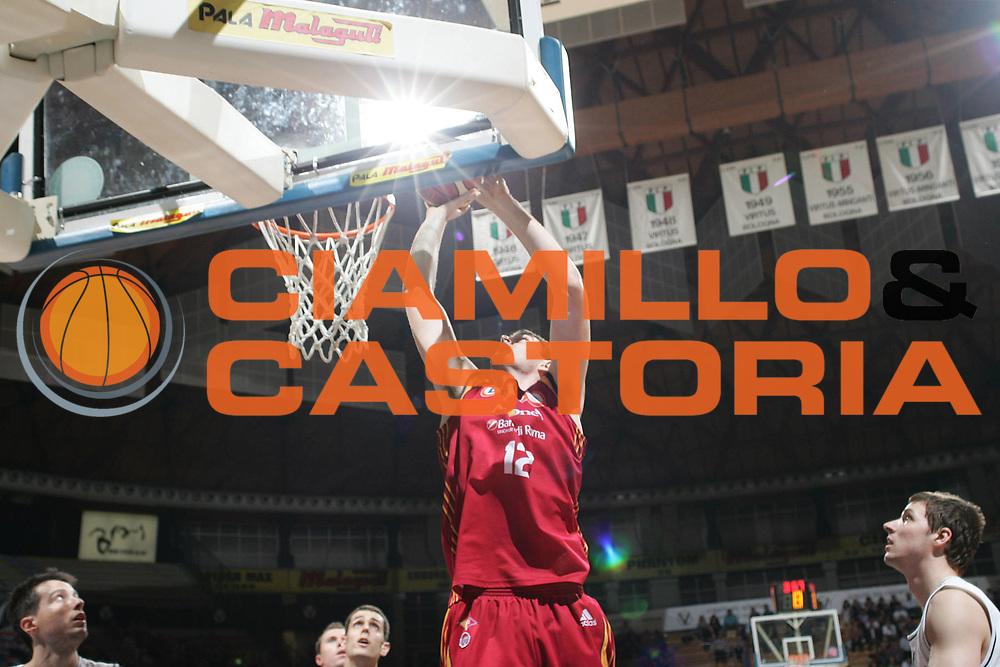 DESCRIZIONE : Bologna Lega A1 2007-08 La Fortezza Virtus Bologna Lottomatica Roma<br /> GIOCATORE : Erazem Lorbek<br /> SQUADRA : Lottomatica Roma<br /> EVENTO : Campionato Lega A1 2007-2008 <br /> GARA : La Fortezza Virtus Bologna Lottomatica Roma<br /> DATA : 27/04/2008 <br /> CATEGORIA : Tiro<br /> SPORT : Pallacanestro <br /> AUTORE : Agenzia Ciamillo-Castoria/M.Minarelli