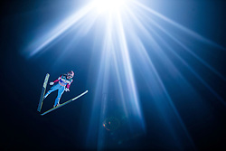 06.01.2015, Paul Ausserleitner Schanze, Bischofshofen, AUT, FIS Ski Sprung Weltcup, 63. Vierschanzentournee, Finale, im Bild Stefan Kraft (AUT) // Stefan Kraft of Austria during Final Jump of 63rd Four Hills <br /> Tournament of FIS Ski Jumping World Cup at the Paul Ausserleitner Schanze, Bischofshofen, Austria on 2015/01/06. EXPA Pictures &copy; 2015, PhotoCredit: EXPA/ JFK