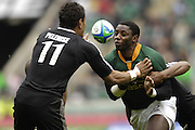 Twickenham, England. Afeleke PELENISE,, the NZ vs RSA, match at the London Sevens Rugby, Twickenham Stadium, Sun, 27/05/2007 [Credit Peter Spurrier/ Intersport Images]